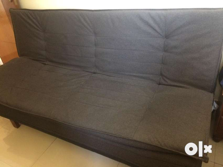 Sofa cum bed in Dark grey (immediate pickup) @ Kandiivali Lokhandwala 0
