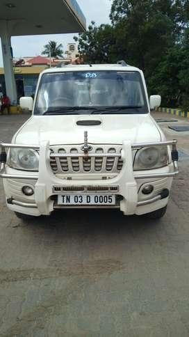 Mahindra Scorpio 2002-2013 2.6 SLX CRDe, 2007, Diesel