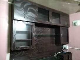 Furnished flat with two wheeler parking ample of water light air.