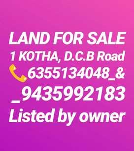 1kotha Land for sale at tarajan DCB Road,(heart of the Jorhat town)