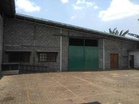 Disewakan gudang ungaran 2080/1500