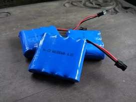 Baterai Cas RC Ni-CD AA1000mAh 4.8V Soket hitam