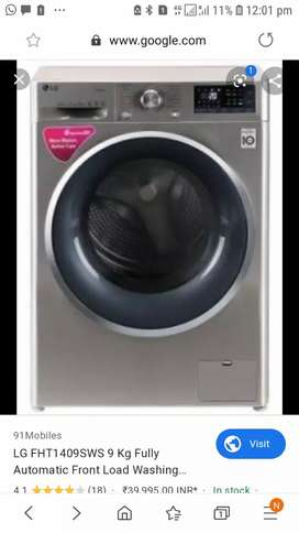 lg full automatic 9 kg front load
