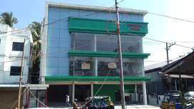 Commercial building spaces for rent