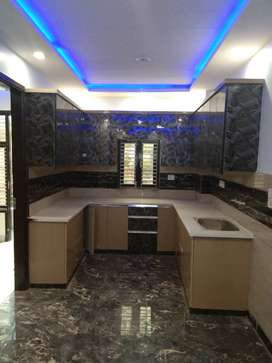 3 BH.K floor natural light 90SqYd With car Parking , 90% BANK LOAN