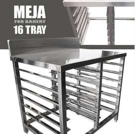 Jual Meja Stainless Steel For Bakery Di Tasikmalaya Termurah