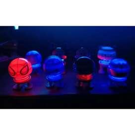 Boneka emoji pajangan dashboard karakter pakai LED