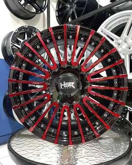 velg racing jari2 ring 16 lubang 4 pcd 100 dan 114,3 bisa di cicil R16