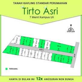 Tanah Kavling Rumah SHM Dijual Jogja Kost Timur Kampus UII Kaliurang