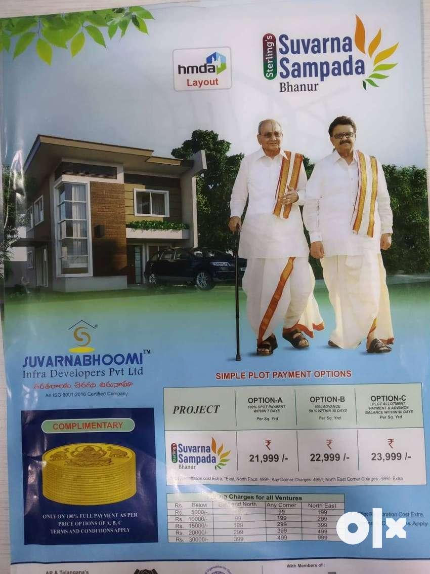 HMDA approved plots for sale in Bhanur, Patancheru 0