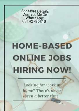 Online Work available