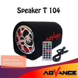 Speaker advance bluetoth T104 10 INC