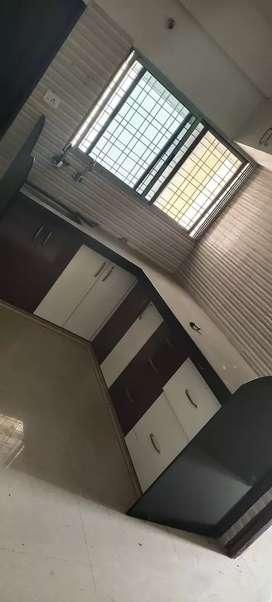 2bhk semi furnished flat at rent Narendra ngr