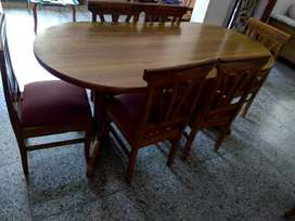 Authentic Teek wood DINNING TABLE 6 SEATER