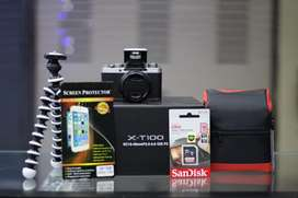 Camera mirrorles fujifilm X-T100 bisa kredit
