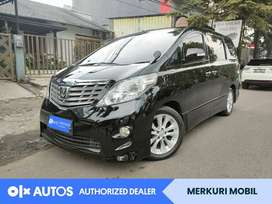[OLX Autos] Toyota Alphard 2.4 Bensin A/T 2008 Hitam #Merkuri