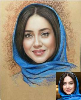 Draw your Portrait handmade oil Painting only call