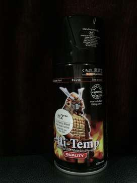 Cat murah Samurai H2 Hi-Temp Black 300 ml