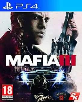 Mafia 3 and ashes cricket 17 ps4