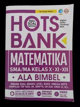 PRELOVED BUKU HOTS BANK MATEMATIKA