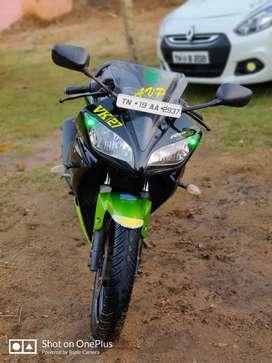 Yamaha R15 single owner 30000 km driven
