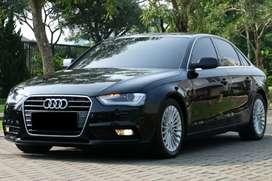 Audi A4 2013 Hitam 1.8 Turbo Garansi Mesin dan Transmisi