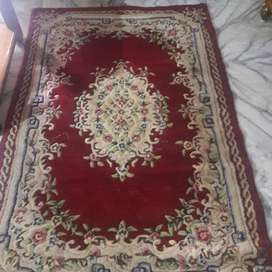 Kashmiri woollen carpet, Big Iron box
