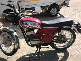 Rajdoot motor cycle
