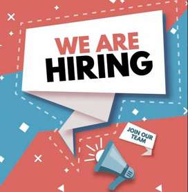 marketing male or female staff for tv channel