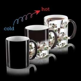 Magical photo coffee mug