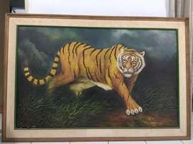 Lukisan maung / harimau