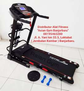 Treadmill Elektrik 2hp Auto Incline Terbaru