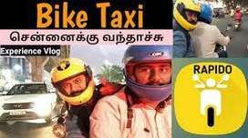 no charges Jobs For Biker & Delivery Boy - Rapido bike taxi