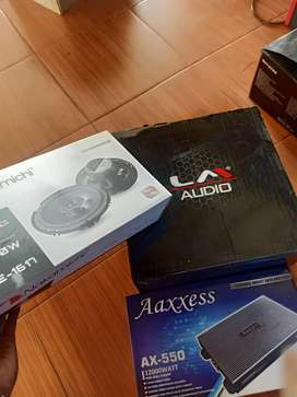Paket plus speaker coaxial
