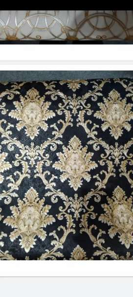 Wall paper and glass paper whole sale m