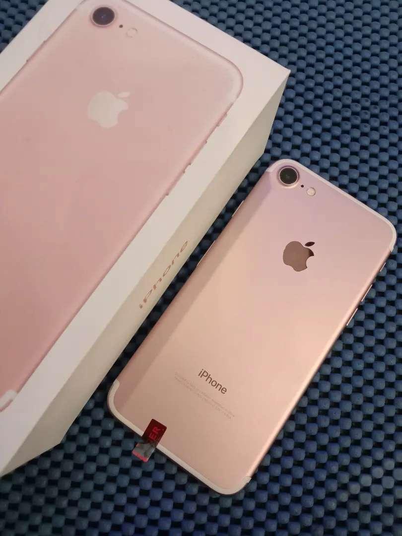 IPhone 7 Rose Gold 128GB Fullset 0
