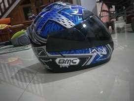 Helm fullface BMC blue