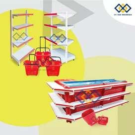 Rak supermarket bahan baja