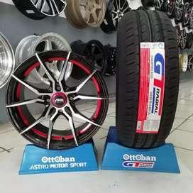 Jual paket velg rata R15+ban GT champiro eco 185/60 R15.