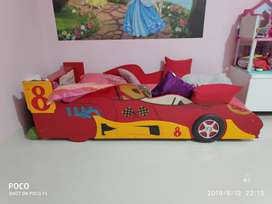 Kids imported car bed with mattress