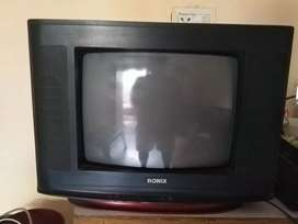 TV 2 year used for sale with dish connection