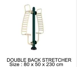 Jual Alat Fitness Outdoor Murah - Double Back Stretcher