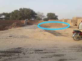 6 Marlas Plot for sale in Zia town, Sadiq canal