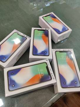 Iphone X 256gb sealed pack 1year warranty