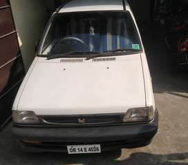 maruti 800 with AC single handed personal use