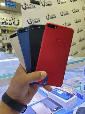 Huawei brand new stock 7x 7c y7prime all available USAMA MOBILE LAHORE