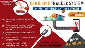 CAR BIKE Tracker PTA APPROVED LIVE Monitor
