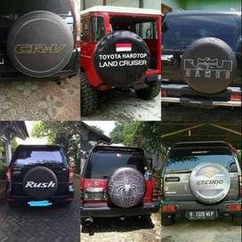 Cover/Sarung Ban Serep Jeep/Rush/Terios HIJAU hitam Katana escudo pant