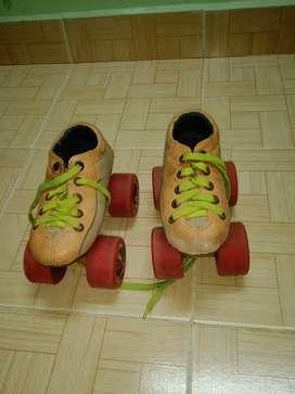 Skating shoe complete set