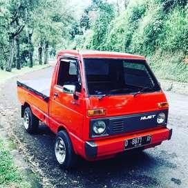 Hijet Pickup Asli Restorasi